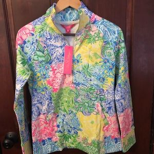 NWT Lilly Pulitzer popover multi cheek to cheek